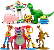9Pcs Toy Story Buzz LightYear Woody Jessie Aliens Action Figures Toys Dolls Set