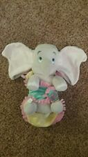 Disney Parks Disney's Babies Dumbo Plush Baby Doll and Blanket 10 Inches