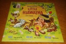 1968 Walt Disney 24 Pg Book & Record #330 Little Hiawatha NOS Sealed FREE SHIP