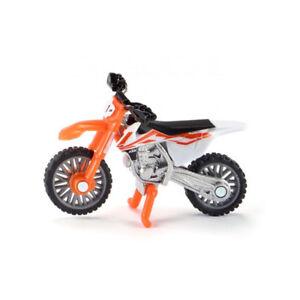 Siku 1391 KTM Sx-F 450 Orange/White Motorcycle (Blister Pack) New! °