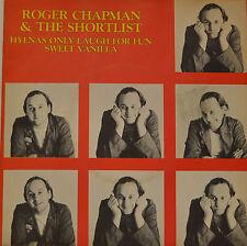 ROGER CHAPMAN & THE LISTE SUCCINCTE HYENAS (HYÈNES) ONLY LAUGH FOR