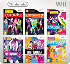 Just Dance 1, 2, 3, 4, - 2017, Kids Nintendo Wii Game *in Good Condition*