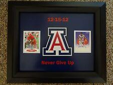 Arizona Wildcats Framed Print - Solomon Hill Ka'Deem Carey Auto 12-15-12