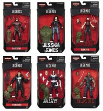 Marvel Legends Man-Thing BAF Complete Set of Six Dare Devil,Elektra,Punisher,Etc