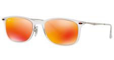 Authentic RAY-BAN New Wayfarer Light Ray Sunglasses RB 4225 - 646/6Q  *NEW* 52mm