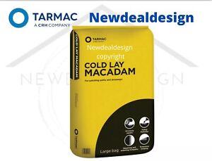 25KG TARMAC COLD LAY MACADAM ASPHALT POT HOLE REPAIR ROAD PATH CAR PARK DRIVEW