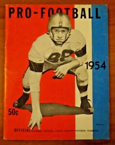 1954 Pro Football Pictorial Yearbook
