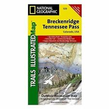 National Geographic Trails Illustrated Map: Breckenridge, Tennessee Pass 109