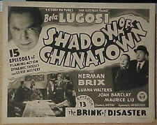 Shadow Of Chinatown 1936 Serial Dvdbela Lugosi Complete