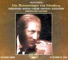 ██ OPER ║ Richard Wagner ║ DIE MEISTERSINGER VON NÜRNBERG ║ Buenos Aires ║ 4CD