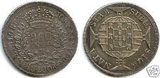BRESIL JOAO VI 960 REIS ARGENT 1820 R RIO DE JANEIRO !!