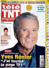 Mag 2008: YVES RENIER_MATTHIEU DELORMEAU