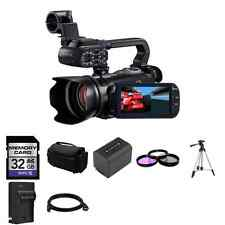 Canon XA10 64 GB Camcorder + 2 Batteries, 32GB SD, 3pc Filters + More