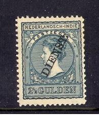 Ned-Indie dienst nr 27  2 1/2  gld ongebruikt luxe