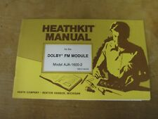 Heathkit AJA-1600-2 original manual