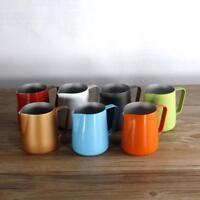 Barista Cappuccino Espresso Coffee Tea Milk Foam Latte Jug Pitcher 350/600ml