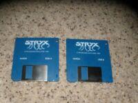 "Stryx Commodore Amiga on 3.5"" disks"