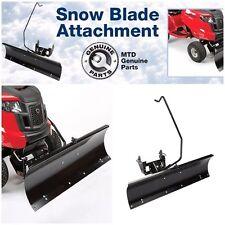 "46"" Snow Blade Attachment Cub Cadet XT1, LT, GT & LTX lawn tractor Plow Clear"