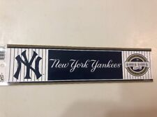 NY Yankees-Yankee Stadium 2009 Inaugural Season Bumper Sticker Official MLB