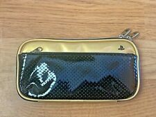 Official Protective Pouch Travel Case Carrying Bag GOLD SONY PSP 2000/1000 JP