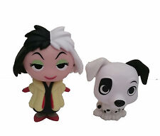 Funko Disney Villains Mystery Mini - 101 Dalmatians - Cruella and Patch Set