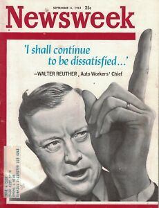 1961 Newsweek September 4 - Dali in Venice; Crooked Gambling cards; Berlin; Sikh