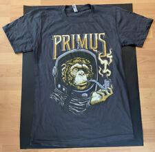 T-Shirt concert Primus Tour monkey Ape Rare pipe size Small Astronaut Astro