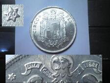 CyP Moneda 5 Pesetas del 1949 50* ( Duro grande )