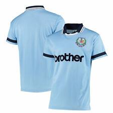 Manchester City Football 1994 Anniversary Short Sleeve Shirt Top T-Shirt Mens