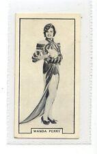 (Jc2731-100)  BAT PRINTED,MODERN BEAUTIES 1ST,WANDA PERRY,1938,#29