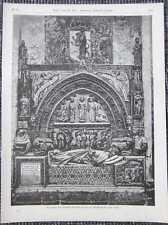 Catedral de Santa María de reglamento de león madera picadura de 1885 túmulos