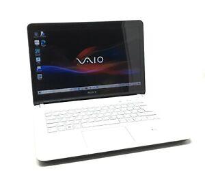 """Sony Vaio SVF1421X1EW 14"""" laptop Intel i5 120GB SSD 4GB Win 10 Webcam Backlit"""
