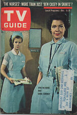 1962 Tv Guide Zina Bethune and Shirl Conway Dec. 15-21