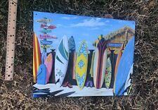 Westmoreland Surf Shack Boards Lineup Metal Sign Tin Vintage