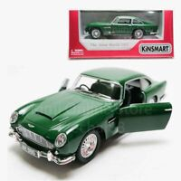 Kinsmart 1:38 Die-cast 1963 Aston Martin DB5 Car Green Model with Box Collection