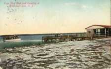 New Jersey ~ WILDWOOD CREST ~ Cape May Boat & Landing Postcard 12429