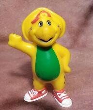 "Barney BJ 3"" PVC Figure Toy 1996 Vintage Yellow Dinosaur Friend"