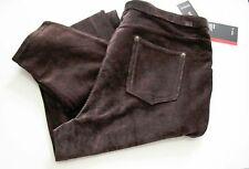 Style&Co Womens Pull On Corduroy Leggings Espresso Bean Sz 3X - NWT