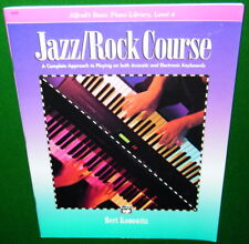 JAZZ/ROCK COURSE Level 4 Acoustic/Electronic Piano Keyboards EXCELLENT CONDITION
