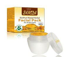 Sanoda  Natural Kasthuri Manjal Herbal Facial Pack 20g