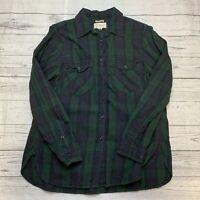 women's ralph lauren denim supply green Long Sleeve Button Up Size Medium
