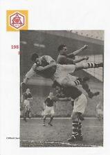 CLIFF HOLTON ARSENAL 1950-1959 RARE ORIGINAL HAND SIGNED MAGAZINE CUTTING