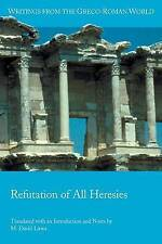 Refutation of All Heresies by Hippolytus 9780884140856 -Paperback