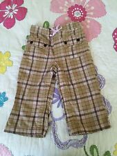 Baby Gap baby girl pants 12-18 months old w/snaps around legs S17