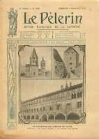 Tour Abbaye de Saint-Pierre et Saint-Paul de Cluny France 1910 ILLUSTRATION