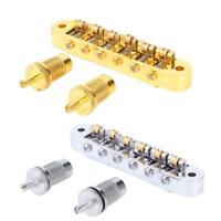 LP EPI Tune-O-Matic Roller Saddle Electric Guitar Bridge Tool Parts + 2X Screws