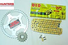 Kawasaki ER6 F & N 2006 to 2015 DID Gold X-Ring Chain & JT Sprockets Kit Set
