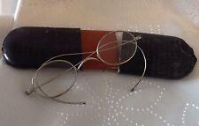 Metal Frame Oval Vintage Spectacles
