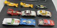 Joblet Of 9 Corgi Juniors Racing Cars Includes F1 - Porsche - Ferrari Playworn