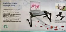 Multi functional Laptop Table Stand Adjustable Folding Ergonomic